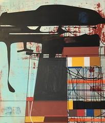 Jim Harris: Untitled. (Jim Harris: Artist.) Tags: art painting schoolofthemuseumoffinearts schilderij kunst zeitgenössische maalaus malerei málverk makabe målning abstractart modernart architecture