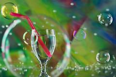 Industar 61 L/Z 50 mm _ f 2.8 / Sony Ilce 6300 (bresciano.carla) Tags: industar61lzf2850 industar bokeh bubbles colors stilllife star vintageoptica green glass sony sonyilce6300