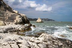 La Vela (palli74) Tags: ancona portonovo mare rivieradelconero conero monteconero vela spiaggiadellavela roccia