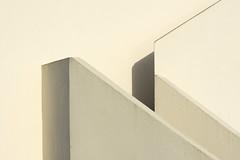 White stairway (Jan van der Wolf) Tags: map174399v stairs staircase stairway monochrome monochroom shadow shadowplay shadows schaduw