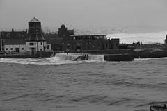 IMG_5782 (monika.carrie) Tags: monikacarrie aberdeen harbour oldcontroltower scotland waves