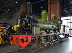 NER Stephenson 'long-boiler' 0-6-0 1275 at the NRM, York (colin9007) Tags: ner north eastern railway stephenson long boiler dubs 060 1275 york nationalrailwaymuseum nrm
