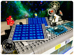39-2 Lighter Greebling and Solar Panels (captainmutant) Tags: afol classic space lego ideas legospace minifig minifigures moc sciencefiction scifi exploration legography brickography photography toy