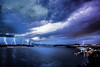 Spooky Scary Lights (AzurTones_Photography) Tags: thunder lightning storm orage clouds nuages night lights nuit ciel méditerranée frenchriviera foudre éclairs sky brilliant amazing water sea chaser spectacular