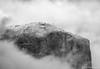 Yosemite - Lingering Spirits_B&W_0710 (www.karltonhuberphotography.com) Tags: 2015 blackandwhite closeup clouds details elcapitan freshsnow landscape mountaintop nature snow snowing spiritual storm tunnelview weather yosemite yosemitenationalpark