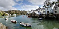 Fowey (Doolallyally) Tags: fowey cornwall riverfowey polruan boats harbour seaside england