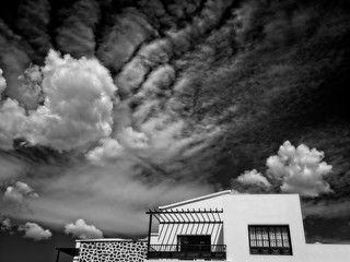 Clouds: Lanzarote House