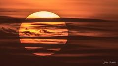 Sunrise over the gulf (flintframer) Tags: sun sunrise morning clouds nature dattilo wow usa america gulf mexico pensacola florida shores nwr canon eos 7d markii ef600mm 14x