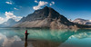 Bow Lake Fishing (irelaia) Tags: bow lake fishing canada british columbia rainy day revisit