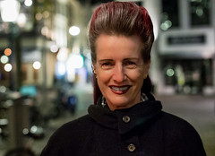 Tourmanager / The Hague 2018 (zilverbat.) Tags: people peopleinthecity bild peopleofthehague portrait portret peopleinthestreet image innercity canon city photography zilverbat woman fashion face dutchholland dramatic dof dutch bokeh lady stadt nightphotography nightshot nightlights urbanlife urban urbanvibes grotemarkt denhaag lahaye thehague hofstad holland thenetherlands town timelife vitage retro lifestyle