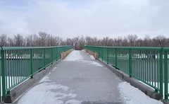 Spring Fish Creek Park Hiking (Mr. Happy Face - Peace :)) Tags: yyc hiking walking albertabound bowriver calgary alberta canada bikepaths scenery snowing chill art2018