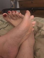 (pedi_licious) Tags: femalefeet footfetish toes heels arches ankles femaletoes soles sandals highheels toefetish legs femalelegs feet barefoot