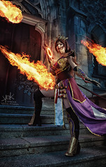 Fotocon 2017: Arshania Cosplay's Human Mage from Diablo III, by SpirosK photography: Spells and Portals (SpirosK photography) Tags: spell portal magic arshaniacosplay fotocon2017 human mage diablo3 spiroskphotography humanmage cosplay fotocon fotoconbytechland spells portrait church steps stairs entrance strobist nikon