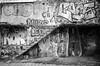 (赤いミルク) Tags: blackandwhite monochrome ビンテージ ビニル black romantism gothic コントラスト 赤 red ウォール wall ゴースト 悪魔 ghost 友人 ドア doors 贈り物 地平線 horizon モノクローム 暗い street 壁 surreal intriguing 生活 life door texture 秋 雨 overpast 賞賛 光 影 白黒 幽霊 いかだ