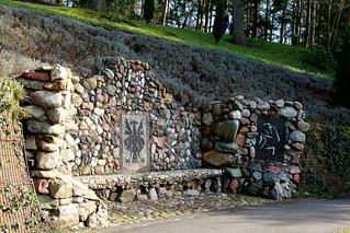 The stone bench.  HBM