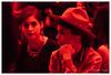 In Red, Milan, Italy (Bigmob Dontwannastop) Tags: italy milan fashion show roberto cavalli red woman girl