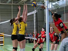 180407_Aarau_VBTD2_035 (HESCphoto) Tags: 2liga aufstiegsspiel btvaarau buchs damen saison1718 suhrenmatte vbtherwil volleyball aargau schweiz ch