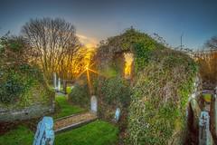 The Medieval Church, Crossmacole (dmoon1) Tags: crossmacole medieval church graveyard meath ireland sony sunset a6500