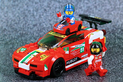 The Youngest Ever Ferrari Free Rider (Lesgo LEGO Foto!) Tags: lego minifig minifigs minifigure minifigures collectible collectable legophotography omg toy toys legography fun love cute coolminifig collectibleminifigures collectableminifigureseries16 series racecarguy racer racers ferrari458italiagt2 ferrari italiagt2 italia gt2 458italiagt2 75908 speedchampions lego71021 71021 party series18 18