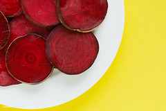 Round textured slices of beetroot on a plate (rawpixel.com) Tags: agriculture background beet beetroot beetrootbackground beetrootslice closeup colorful diet dietary farm food fresh freshness harvest health healthy healthybeetroot ingredient juicy macro name natural nutrition organic pattern plant raw red ripe root season seasonal slice sliced slices sweet tasty texture textured tropical vegetable vitamin wallpaper