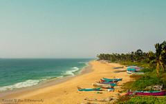 Seashore Bliss !! (Kaushik.N.Rao) Tags: beach seashore seascape colors bliss beautiful nature boat travel tourism photography canon dslr kaupbeach udupi karnataka india iamk9 2k18 scenic landscape wide