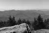 Deep Gap Trail (Zach K) Tags: burnsville northcarolina unitedstates mountains hills blue ridge stone view vista landscape rock outcropping trail hike hiking nature trees blueridge north carolina deep gap fujifilm fuji x100f acros