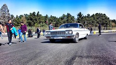 Impala in Motion (Mohsen Shahedi) Tags: chevrolet impala ss impalass 60s chevyimpala americancars classiccars whitecars car oldcar iran