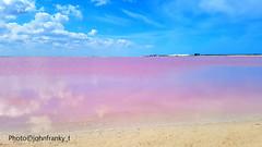 Rio Lagartos-Yucatan-Mexico (johnfranky_t) Tags: riolagartos messico yusatan rosa laguna acqua nuvole azzurro pink clouds caraibi johnfranky t