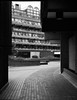 Ben Jonson Place (cybertect) Tags: benjohnsonhouse benjohnsonplace carlzeisstessart45mmf28 chamberlinpowellandbon cityoflondon ec2 frobishercrescent london londonec2 sonya7ii thebarbican architecture blackwhite blackandwhite building monochrome