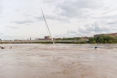 Crecida Ebro abril 2018 (41 de 56) (Fernando Soguero) Tags: zaragoza ebro crecida agua