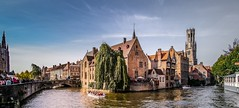 Panorama Bruges - 4713 (YᗩSᗰIᘉᗴ HᗴᘉS +13 000 000 thx) Tags: bruges panorama canal hensyasmine namur belgium europa aaa namuroise look photo friends be saariysqualitypictures wow yasminehensinterest intersting eu fr greatphotographers lanamuroise