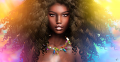 The soul of colors (meriluu17) Tags: itgirls letituier jumo color colorful afro portrait people exotic sensual babe girl woman wild