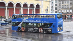 Not a good day for a sightseeing bus tour of Munich (paulburr73) Tags: munich germany maxjosephplatz bavaria