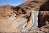 in the old mountains (mhobl) Tags: ouedsmouguene antiatlas serpentine road morocco maroc