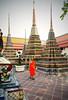 Au Wat Pho (Boccalupo) Tags: bangkok watpho temple shrine monk moine orange canon eos 5dmarkii asie asia thailand thaïlande