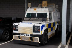 West Yorkshire Police Land Rover Defender 110 Armored Vehicle (PFB-999) Tags: west yorkshire police wyp land rover defender 110 armored vehicle car unit lightbar rotators beacons f442gnw