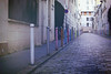 Colorful Street (Vincent Jolicoeur) Tags: fujicolor c200 film praktica mtl3 paris kenko kfs500mini