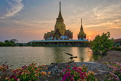 Wat Phrong Akat and Lord Ganesh Temple (technodude67) Tags: 2018 architecture asia buddhism calm landscape nature outdoor outdoors placeofworship thailand travel traveldestination wanderlust water worship