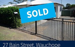 27 Bain Street, Wauchope NSW