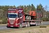 F. & J. BREMNER SCANIA TOPLINE STREAMLINE R560 V8 L100 FJB (Darren (Denzil) Green) Tags: f j bremner scania topline streamline r560 v8 l100 fjb caithness generalhaulage flatbedtransport scaniatrucks hay transport