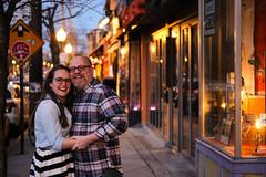 Rachel & Dave (52) (Brian Isemann) Tags: the creamery baltimore hampden fuji xt2 xt20 engagement