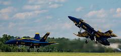 Blue Angels, New York Airshow 2017 (nsandin88) Tags: navy warplane aircraft nikon hornet airplane flying airshow fighter war d7100 aviation f18 military boeing air navalaviator plane naval flight