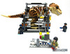 Performing an emergency blood transfusion (WhiteFang (Eurobricks)) Tags: lego dinosaurs trex jurassic park world fallen kingdom tyrannosaurus acus security military patrol weapons science scientist research island transport armoured