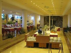 Our dining room (Jackie & Dennis) Tags: lagomera vallegranrey hotel