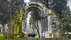 Pórtico de San Isidoro (Jusotil_1943) Tags: 21021 oviedo parque portico ruinas