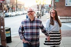 Rachel & Dave (31) (Brian Isemann) Tags: the creamery baltimore hampden fuji xt2 xt20 engagement