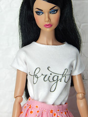 """""""Bright"""" up your life (Levitation_inc.) Tags: ooak handmade doll dolls clothes dress outfit levitation levitationfashion etsy poppy parker bright nuface fashion royalty integrity toys barbie barbiestyle colorful colors mod prototype peony poetry motion repaint"""