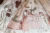 Saint Peter admitting souls to paradise (Nick in exsilio) Tags: odense regionofsoutherndenmark denmark dk medieval fresco judgement saint peter heaven keys souls righteous