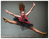 Love To Dance (Grant Grieve. Off the grid.) Tags: teen dancer dance fly group girl 13yo costume hair love red jump high