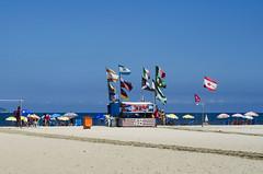 Troll (LynxDaemon) Tags: canadian flag wrong error patriotism copacabana rio beach ocean vacation surprise oups trolling mistake weird wierd sun atlantic blue international